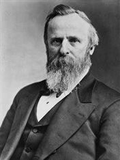 President Rutherford B Hayes